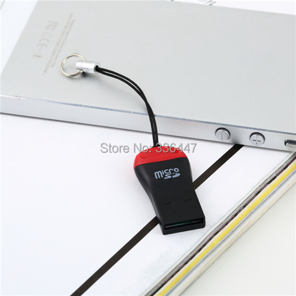 1PC Mini USB Card Reader USB 2.0 TF Micro SD T-Flash M2 Memory Card Reader Newest(China (Mainland))