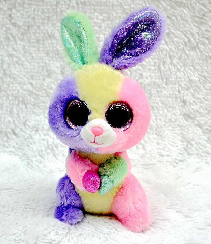 TY Beanie Boos Cute Unicorn&Owl&Bunny Rabbit Plush Toys Big Eyes Eyed Stuffed Animal Soft Toys Kids Gifts 18cm#ML243(China (Mainland))
