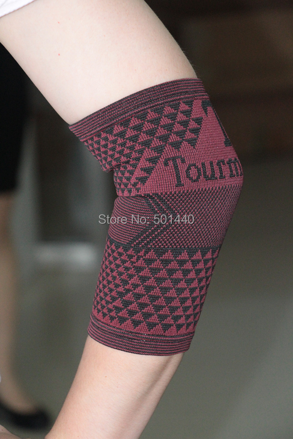 Pain relief Tourmaline Magnetic Elbow Brace(China (Mainland))