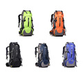50L large outdoor waterproof package unisex Travel Bags Rucksack outdoor Nylon shoulder bag camping hiking cycling