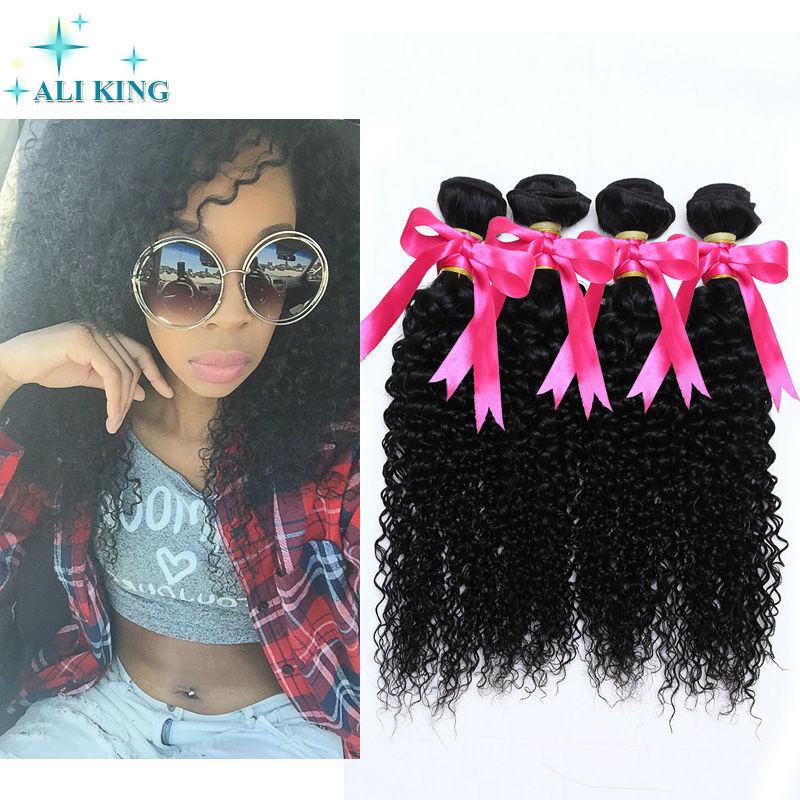 Rosa Hair Products Peruvian Virgin Hair Kinky Curly 4pcs Bundles Curly Unprocessed Virgin Peruvian Hair Afro Kinky Curly Hair