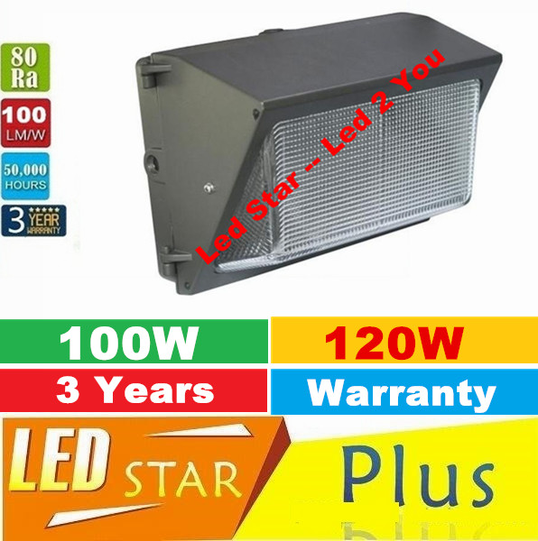 Led Wall Pack 120W Fixture Lights Flood Light Wash Lamp Energy Savings efficient Building Outdoor Lighting Mean Well Driver(China (Mainland))