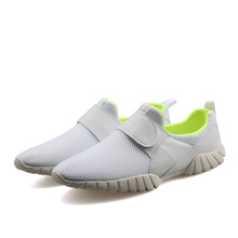 Hot sale!2016 Fashion Breathable shoes with air mesh Men Casual Shoes breathable shoe for gym trainer shoes brand size 39-44