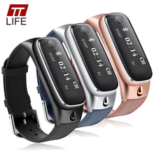 2016 New TTLIFE Smart Watch Bracelet Sports Smartband Bluetooth 4.0 Headsets Sleep Monitor Fitness Tracker for IOS Android Phone(China (Mainland))