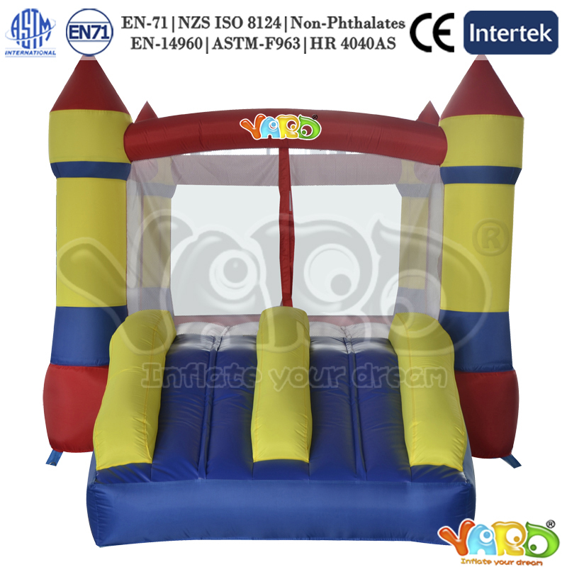 YARD Bouncy castle bounce house inflatable bouncer slide with blower(China (Mainland))