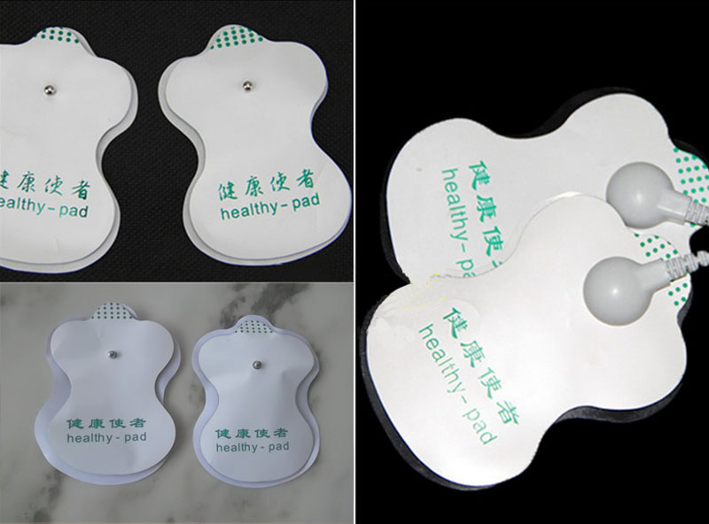 2PCS Replacement Pads for Slimming Pain Relief Electronic Pulse Massager(China (Mainland))
