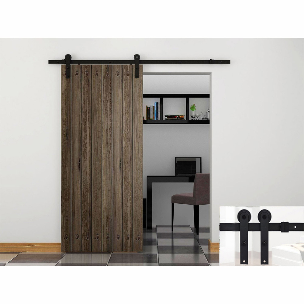 modern barn style wood sliding door system contemporary interior doors