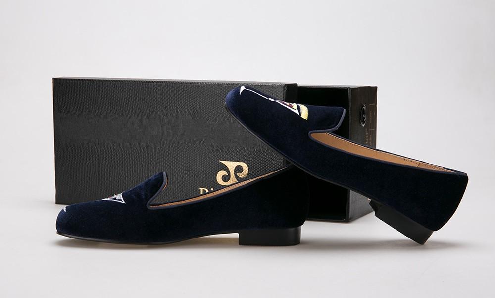 Piergitar Новый стиль рюмка вышивка ручной работы обувь туфли-кожаных женщинам-бездельников Женщины' квартиры весна и лето свободного покроя обувь