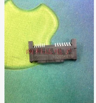 10PCS Original SUY-IN letter sounds SATA interface connector 6 +7 SMD female high-quality hard disk interface(China (Mainland))