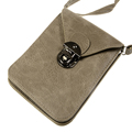 Universal Leather Cell Phone Bag Shoulder Pocket Wallet Pouch Case Neck Strap For iPhone For HTC