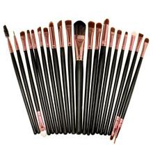 UESH 20PCS Professional Make Up Tool Brush Kit Foundaton Eyeshadow Mascara Lip Brushes Eyebrow