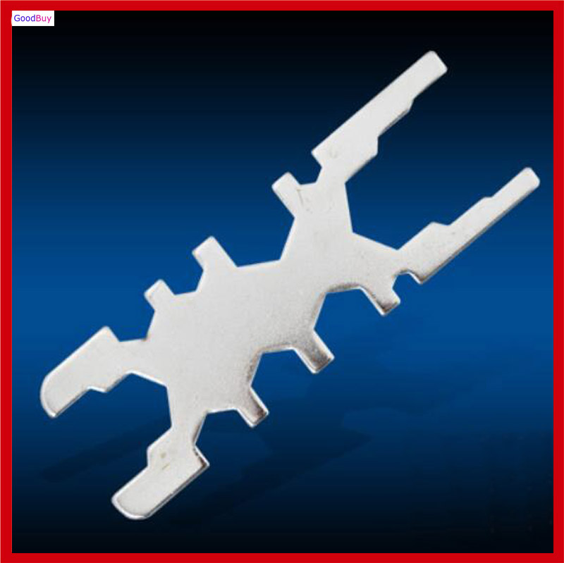 New Multifnction 13 Sizes in 1 Basin wrench 13 Heads Bathromm Faucet Water Pipe Hose Wrench Spanner(China (Mainland))