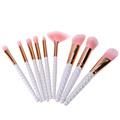 T2N2 9pcs Professional Makeup Brush Set Foundation Blusher Eyeshadow Lipstick Face Powder Beauty Cosmetic Blush