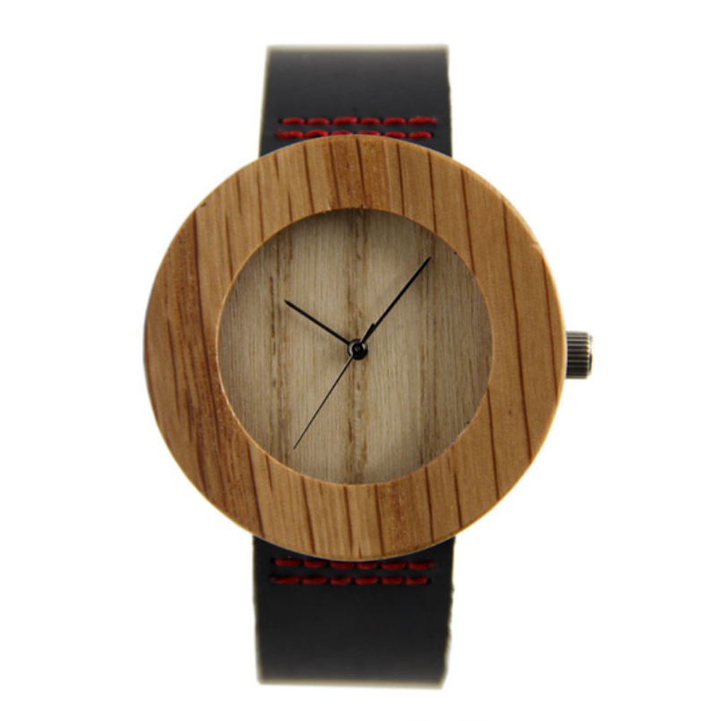 excellent quality 2016 movement wristwatches genuine leather bamboo wooden watches for men and women for gifts<br><br>Aliexpress