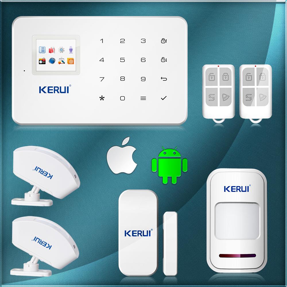 GSM SMS Home Burglar Security Gsm Alarm System Detector Sensor Kit Remote Control(China (Mainland))