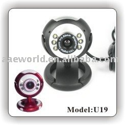 webcam,pc camera,pc webcam,latest webcam,With Snapshot button,With LED lights,U19,computer accessory,plug and play