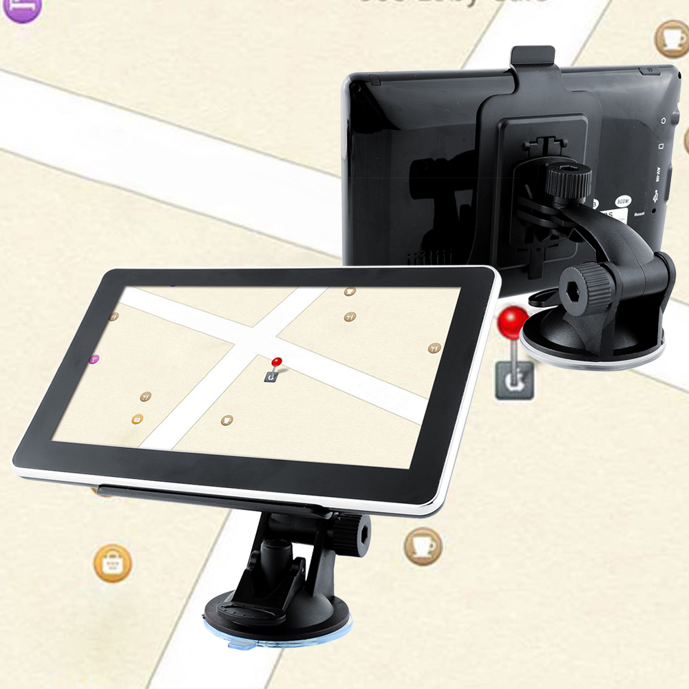New 7'' Inch 128MB 4GB FM Touch Screen Car Truck GPS Navigator Roadmate SAT NAV MP3 Russia Free Maps(China (Mainland))