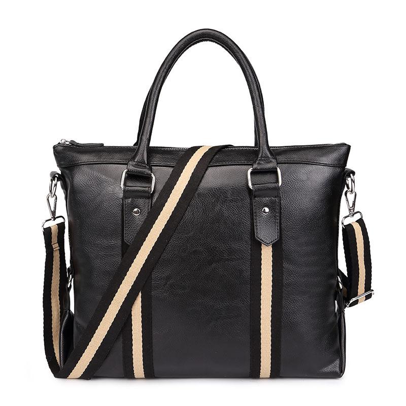 Famous Brands Designer Handbags High Quality Men Messenger Bags Business Laptop Bag Briefcase Leather Shoulder Bags Bolsos A0255(China (Mainland))