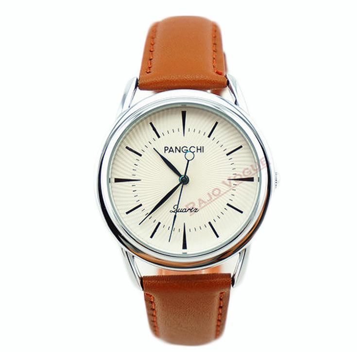 Brand pangchi modern mens high quality business dress quartz watches