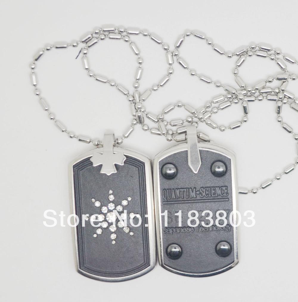 Free shipping!Energy quantum scalar pendant matched energy card & lava pendants&Resist radiation(China (Mainland))
