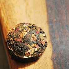 Hot Sale Rose Flavor Pu er Puerh Tea Chinese Mini Yunnan Puer Tea Green Slimming Coffee