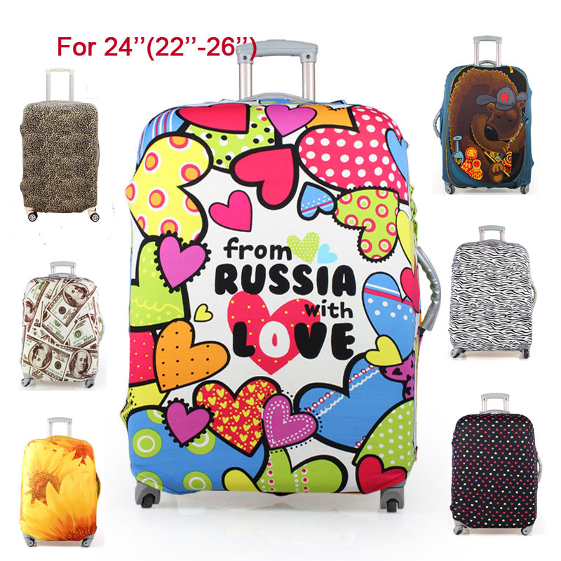 Гаджет  Free Shipping Travel Luggage Suitcase Protective Cover, stretch,made for 24inch case, apply to 22 to 26inch Cases,7 colors M1226 None Камера и Сумки
