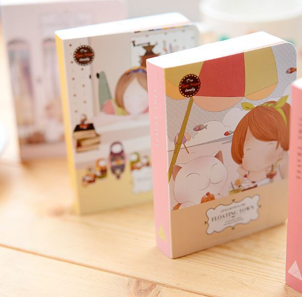Paper Hard Copybook Daily Memos Fitted No Gift New Product Cute Notebook Mini Notepad(China (Mainland))