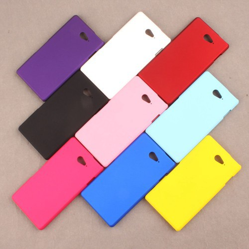 For Sony M2 Ultra Thin Matte Scrub Frosted Hard Back Mobile Phone Case PC Cover For Sony Xperia M2 Aqua(China (Mainland))
