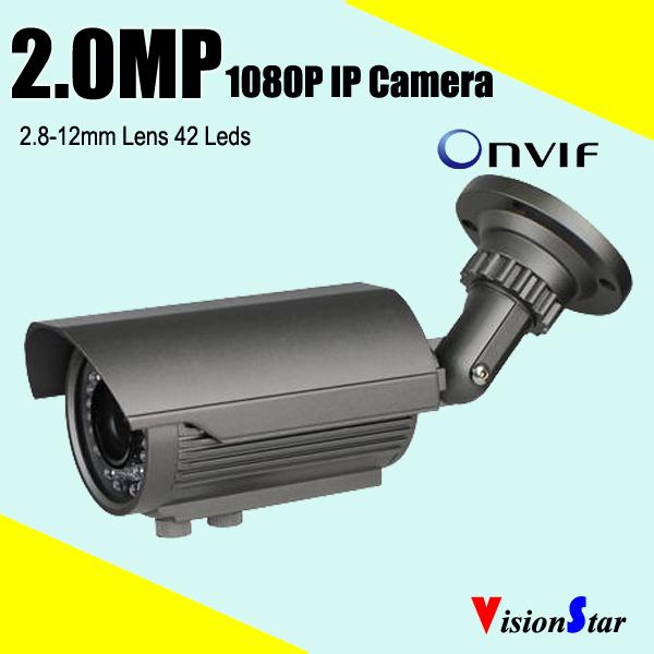 2.0MP Color IP camera 1080p CCTV COMS IP Camera Motion Detection Security Camera Manual Zoom Onvif Camera(China (Mainland))