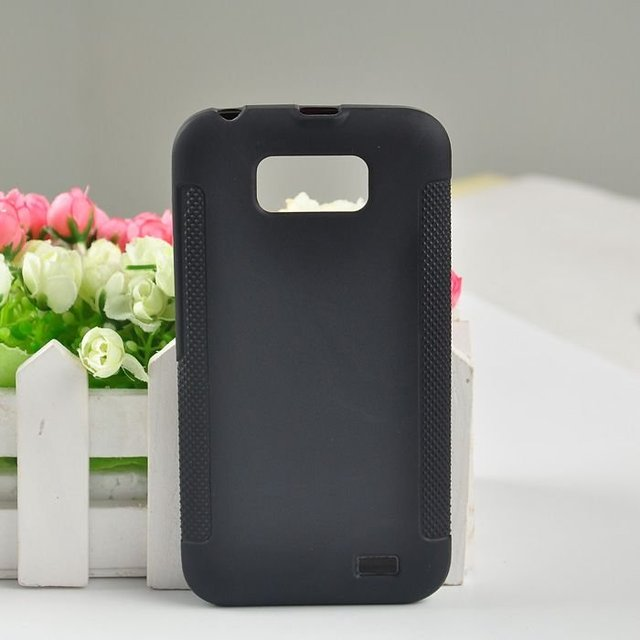 New Arrival Black Protective Soft TPU Gel Back Case For Gionee GN700W or Fly IQ441 Radiance Cell Phone Cover  With Opp Bag