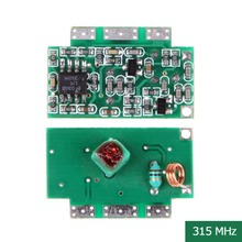 DC 5V ZR2-1 Superheterodyne Receiver Module Wireless Communication 315MHZ   E1Xc