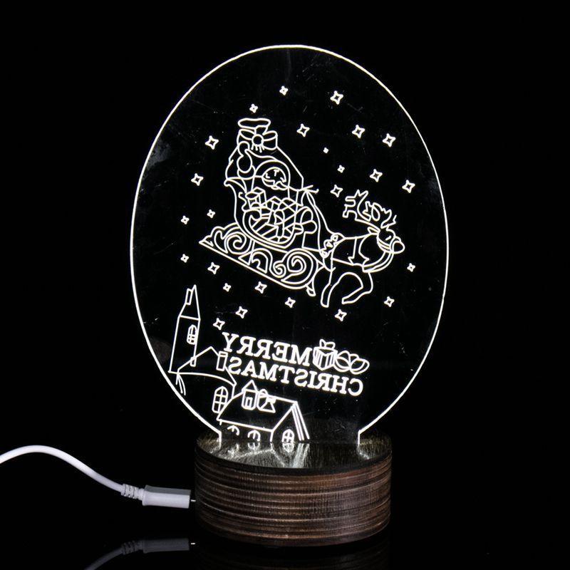 2017 fashion Strange new products bedroom modern desk lamp light 3D Nightlight lamp led lamp usb led lamparas luminaria de mesa