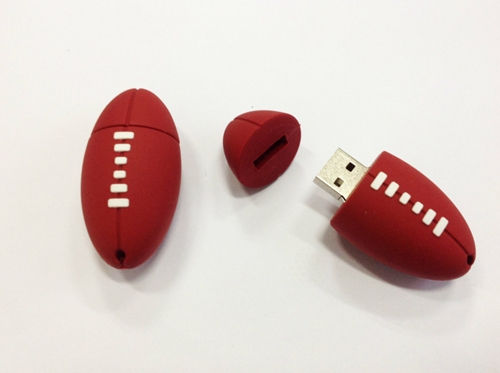 4GB 8GB 16GB 32GB Cartoon Rugby Rugger USB 2.0 flash drive memory pen disk(China (Mainland))