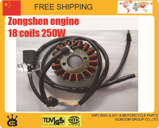 CB250 zongshen magneto stator Motorcycle 250cc engine 12v 18 coils xmotos orion bse kayo dirt pit bike - GoBoom Group Co.,Ltd store