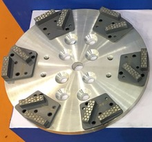 250mm magnetic plate for cub grinder edge grinding polishing machine(China (Mainland))