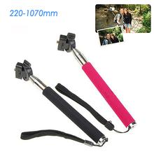Gopro Accessories Extendable Palo Monopod Self Stick Tripod for Go pro Hero 4 3 SJ4000 xiaomi yi Camera Stand mount