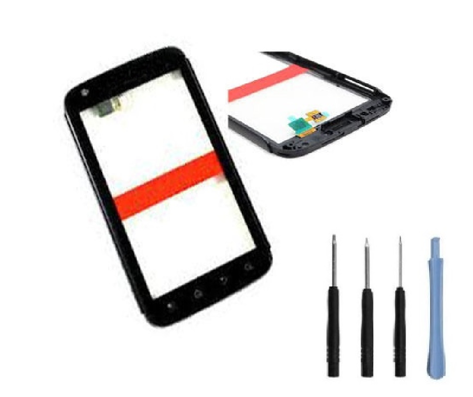 For Motorola Atrix MB860 Front Touch Screen lens Digitizer Glass Panel + Frame + Sticker + Free Tools(China (Mainland))