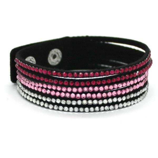 Mix Color Leather Bracelet, Charms Bracelet White Braided Leather Wrap Bracelet Fashion Women Jewelry Gift(China (Mainland))
