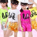 New Arrival Girls Stage Performance Clothes Children s Set Fashion Jazz Dance Costumes Hip Hop Dancewear