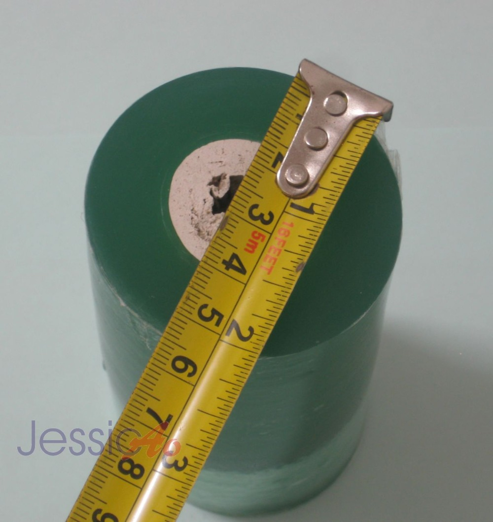 electric wire stretch packing film 50mm plastic membrane stretch film Small roll wrap plastic Transparent wrapping FREE SHIPPING(China (Mainland))