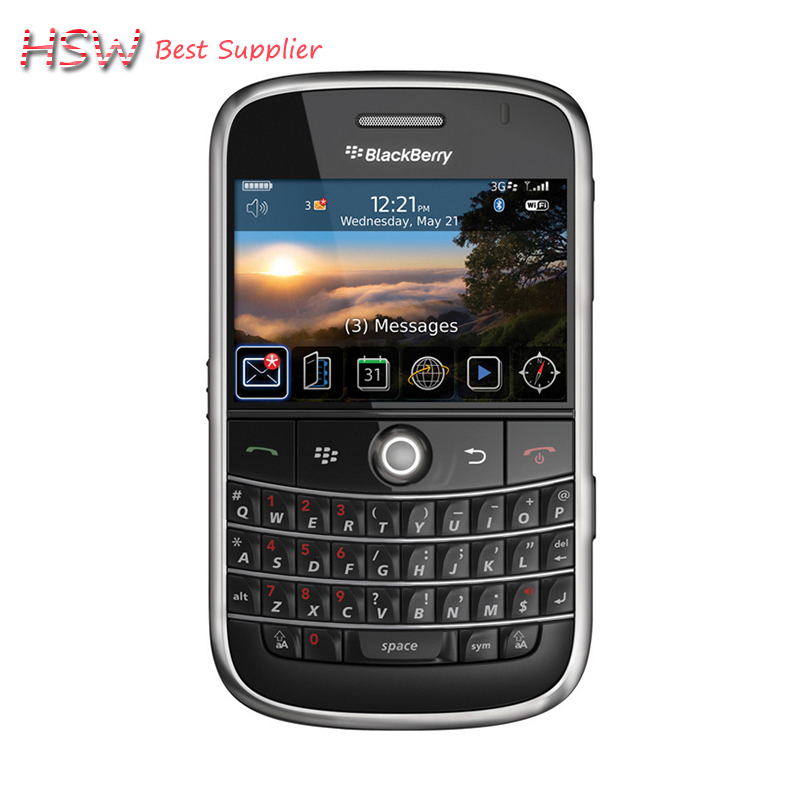 directly Selling 100% Original Unlocked 9000 Original Blackberry Bold 9000 Mobile Phone GPS WIFI 3G Cell Phone Refurbished(China (Mainland))