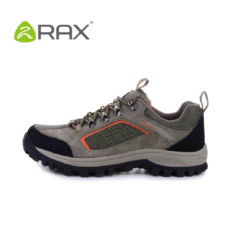 RAX suede leather men casual shoes low help mountain casual shoe breathable mesh damping outdoor walking shoes size 39-44 #B2029<br><br>Aliexpress