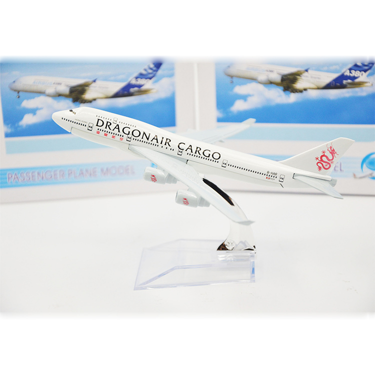 1:400 16CM Metal Airplane Model Dragonair Cargo Air B747 Airways Retail&Wholesale Aircraft Toy Vehicles Gift Free Shipping(China (Mainland))