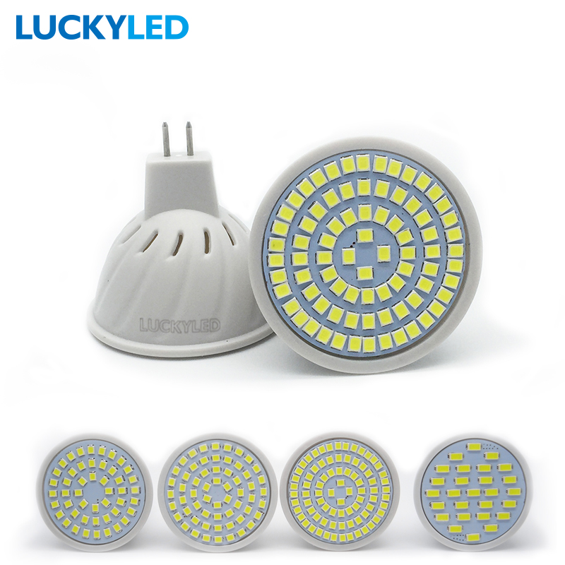 LUCKYLED Bombillas led GU5.3 3W 4W 5W 6W AC 220V /110V SMD 2835 / 5730 LED Spotlight MR16 for home Lampada bulbs(China (Mainland))