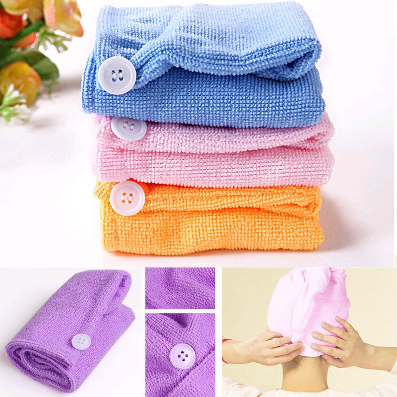Microfiber Hair Towel Reviews: Fashion Nice Microfiber Hair Wrap Towel Drying Bath Spa