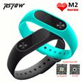 RsFow New M2 Smart Bracelet Heart Rate Monitor Bluetooth Smartband Health Fitness Tracker Smart Band Wristband