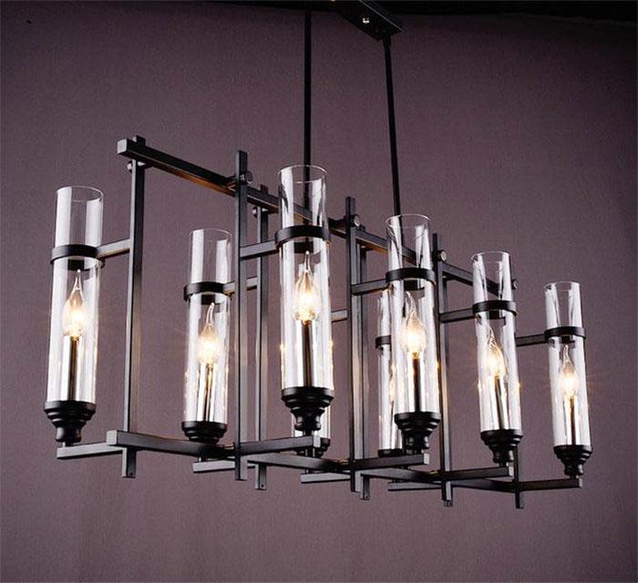 lampadari art deco : ... lampadario lampadari Art Deco industriale negozio casa lampadari