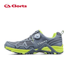 Clorts Men New BOA Trail Running Shoes Walking Shoes Athletic Shoes Trail Racing Sport Shoes for Outdoor 3F013A(China (Mainland))