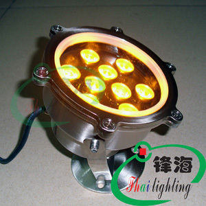 Special hot lamps underwater lights led underwater lights cast light embedded stainless steel fountain lights 12V 9W(China (Mainland))