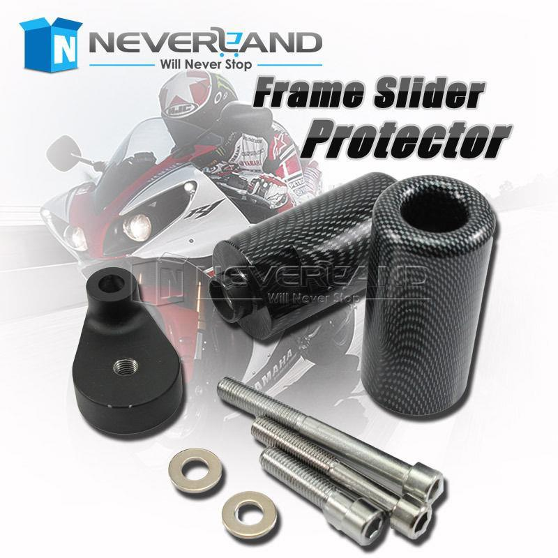 Frame Sliders crash for Yamaha YZF R6 YZFR6  08 09 2008 2009
